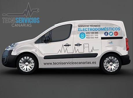 Servicio Técnico Electrodomésticos Tenerife, Reparación Electrodomésticos Tenerife.